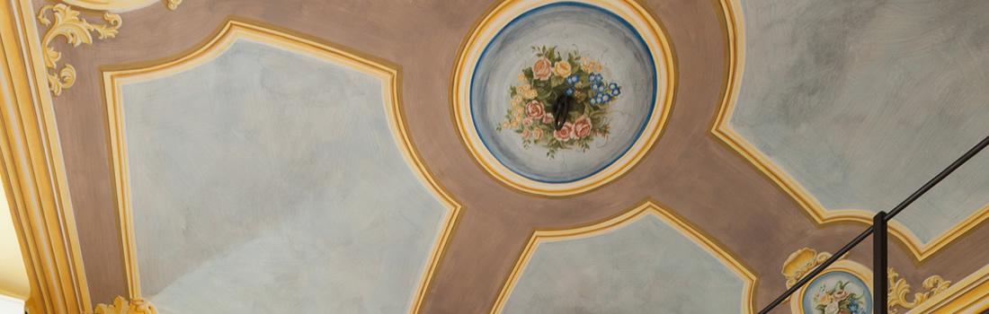 Decorazioni per pareti decori per interni provincia di siena toscana decorazioni moderne interni - Decorazioni murali per interni ...